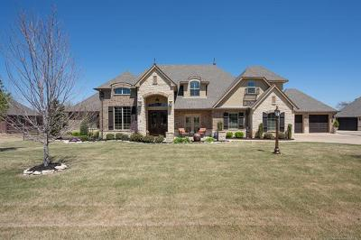 Owasso Single Family Home For Sale: 6641 N Wilderness Trail