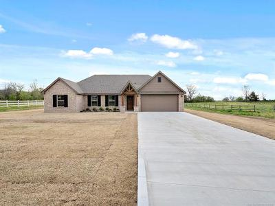 Claremore Single Family Home For Sale: 17005 S Eagle Drive