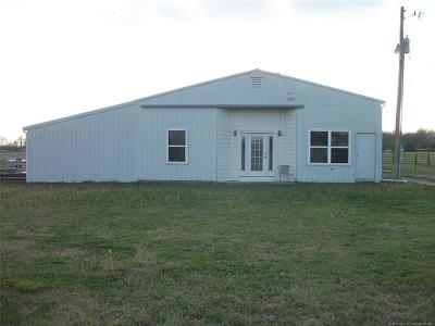 Claremore Single Family Home For Sale: 13560 S 4150 Road