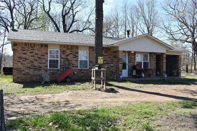 Tahlequah Single Family Home For Sale: 1981 N 545 Road