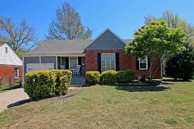 Tulsa Single Family Home For Sale: 1725 S Columbia Place
