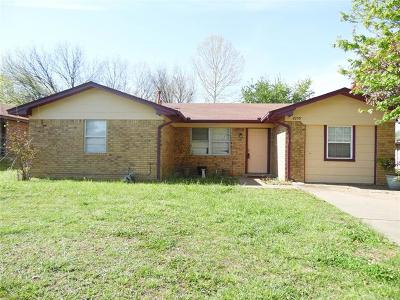 Ada OK Single Family Home For Sale: $79,000
