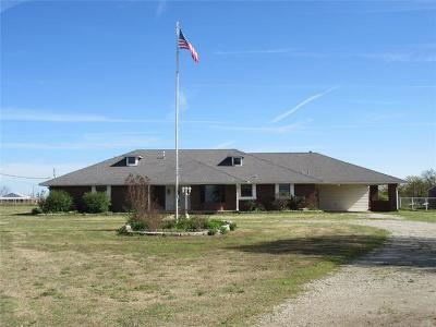Ada Single Family Home For Sale: 9410 State Highway 19 Highway