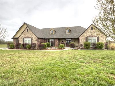 Claremore Single Family Home For Sale: 18450 Quail Creek Road