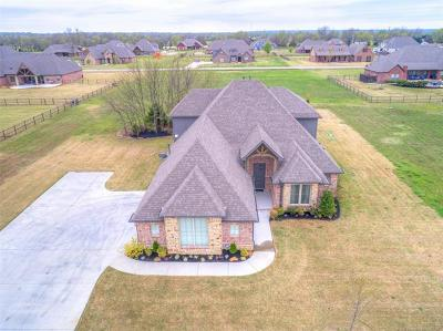 Claremore Single Family Home For Sale: 5160 E Hickory Bluff Drive