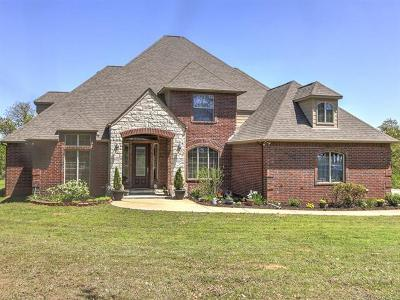 Sapulpa Single Family Home For Sale: 13555 Heywood Hill Road