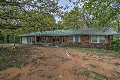 Okmulgee Single Family Home For Sale: 3160 Hope Road