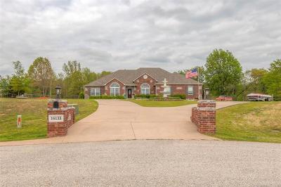 Coweta Single Family Home For Sale: 16133 S 280th East East Avenue