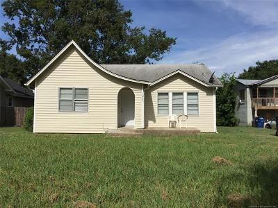 Ada OK Single Family Home For Sale: $49,000