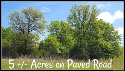 Ada Residential Lots & Land For Sale: County Road 1555