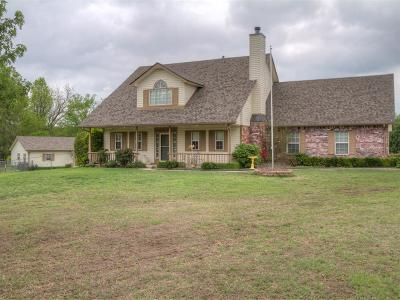 Catoosa Single Family Home For Sale: 27242 E 12th Street