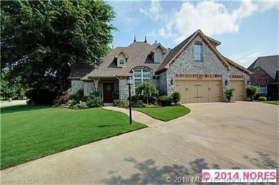 Owasso Single Family Home For Sale: 13801 E 92nd Court North
