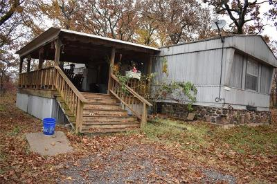 Tahlequah OK Manufactured Home For Sale: $160,000