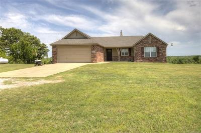Sand Springs Single Family Home For Sale: 4627 S 193rd West Avenue