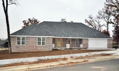 Tahlequah OK Single Family Home For Sale: $262,153