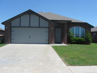 Collinsville Single Family Home For Sale: 13351 N 132nd East Avenue