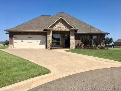 Muskogee Single Family Home For Sale: 1000 Cobblestone Circle