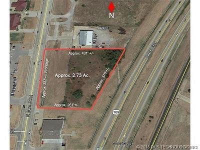Owasso Residential Lots & Land For Sale: N Garnett Road