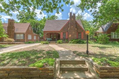 Tulsa Single Family Home For Sale: 1640 S Evanston Avenue