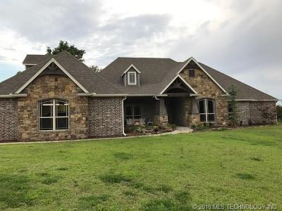 Skiatook Single Family Home For Sale: 14910 Lake Road