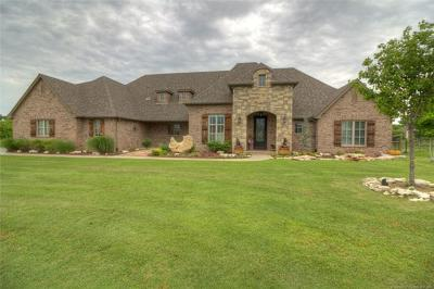 Owasso Single Family Home For Sale: 6565 N Deer Ridge Court