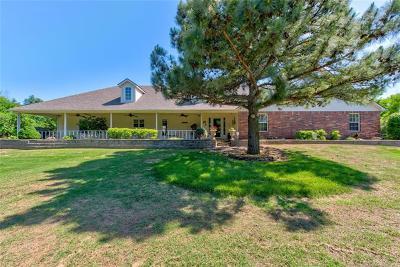 Broken Arrow Single Family Home For Sale: 27801 E 65th Street S