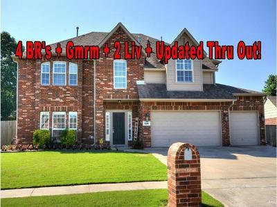 Broken Arrow Single Family Home For Sale: 4105 W Kent Street