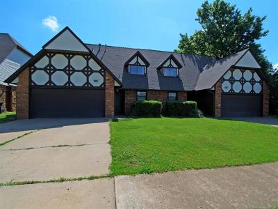 Tulsa Multi Family Home For Sale: 4031-4033 S 131st East Avenue