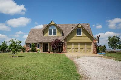 Claremore Single Family Home For Sale: 18012 S Ranch Road