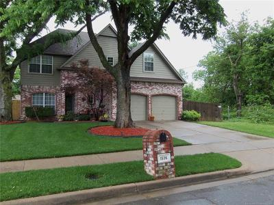 Jenks Single Family Home For Sale: 1506 W 115th Street S