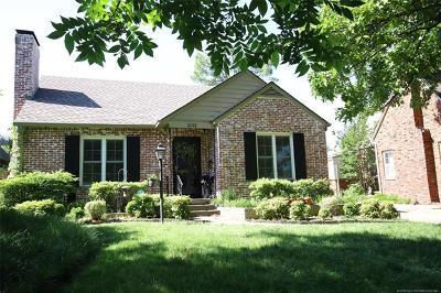 Tulsa Single Family Home For Sale: 2132 E 23rd Street