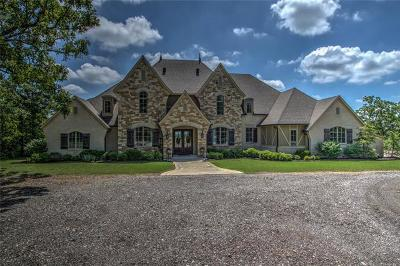 Sand Springs Single Family Home For Sale: 8876 Wind Ridge Drive