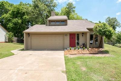 Broken Arrow Single Family Home For Sale: 5117 S Lions Avenue