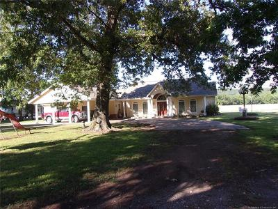 Tahlequah Single Family Home For Sale: 23701 E 730 Road