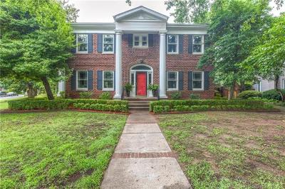 Tulsa Single Family Home For Sale: 2514 Terwilleger Boulevard