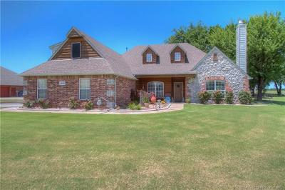 Owasso Single Family Home For Sale: 18795 E 81st Street N
