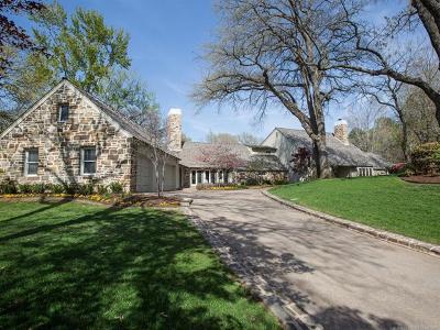 Tulsa OK Single Family Home For Sale: $1,663,000
