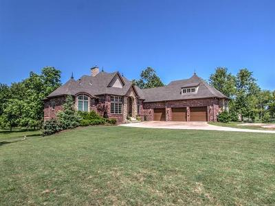 Broken Arrow Single Family Home For Sale: 13220 S Garnett Road
