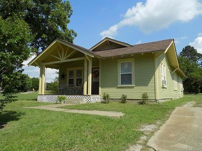 Holdenville OK Single Family Home For Sale: $65,500