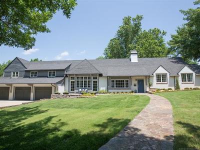 Tulsa Single Family Home For Sale: 3645 S Wheeling Avenue