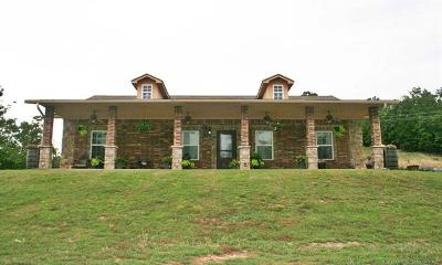 Hulbert OK Single Family Home For Sale: $349,900