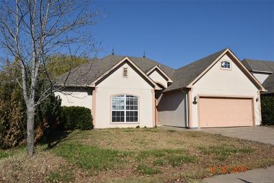 Broken Arrow OK Single Family Home For Sale: $165,000