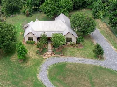 Claremore Single Family Home For Sale: 16100 S 4210 Road