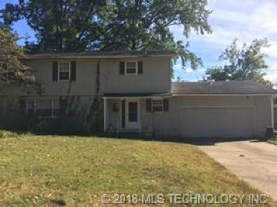 Tahlequah OK Single Family Home For Sale: $119,000