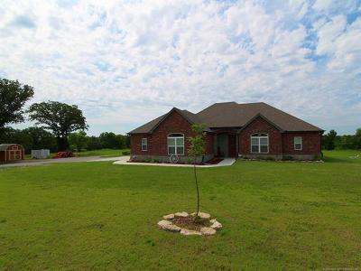Sapulpa Single Family Home For Sale: 13367 S 213th West Avenue