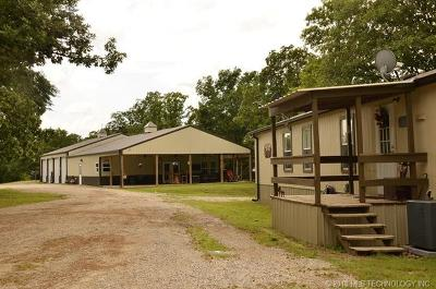 Okmulgee Single Family Home For Sale: 18923 Dripping Springs Lake Road