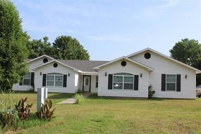 Hulbert OK Single Family Home For Sale: $249,900