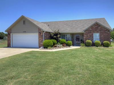 Collinsville Single Family Home For Sale: 11729 N 194th East Avenue