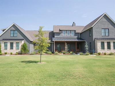 Owasso Single Family Home For Sale: 17749 E Sunset Ridge