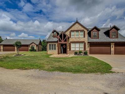 Sand Springs Single Family Home For Sale: 5630 N 105th West Avenue